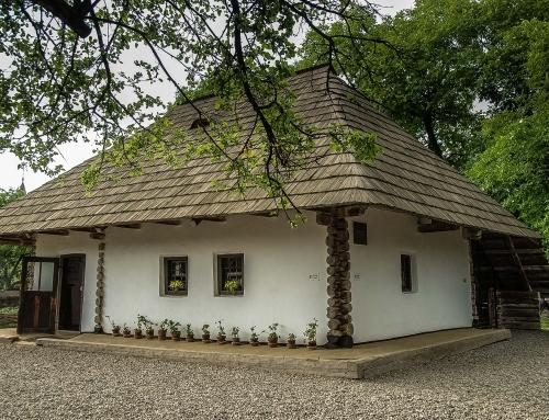 Casa memorială Ion Creangă din Humulești